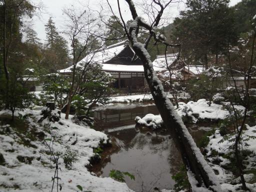 冬・積雪 南禅院(京都市左京区、南禅寺別院)