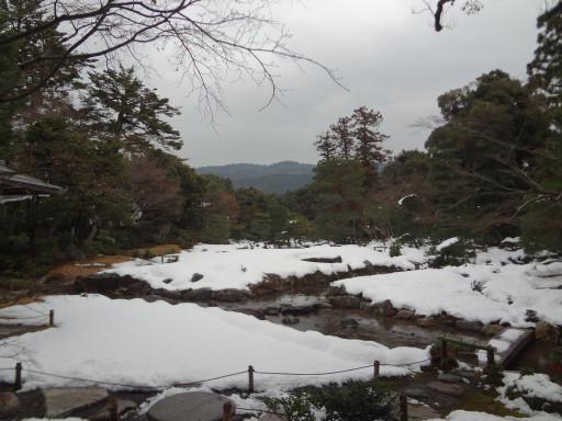 冬・積雪 無鄰菴(京都市左京区)
